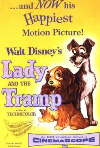 Lady and the Tramp 1955 Animated Movie