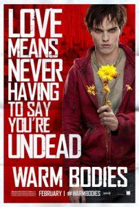 Warm Bodies Romantic Horror Movie 2013